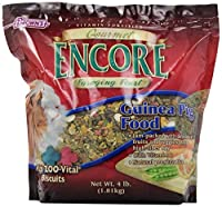 F.M.BROWN'S Encore Gourmet Guinea Pig Food, 4 Lb by F.M. Brown's
