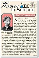 Sofia Kovalevskaya–女性の科学数学–新しい教室ポスター