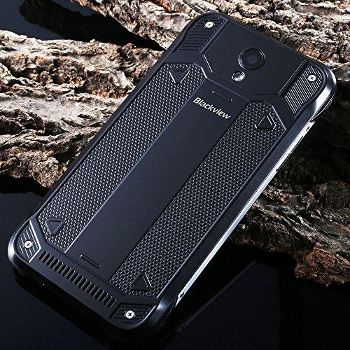 "BlackviewBV5000IP67防水スマートフォン防塵耐衝撃クアッドコアMTK6735P5.0""IPSScreen1.0GHz64bit2GBRAM16GBROM5MP13MPOTG ブラック"