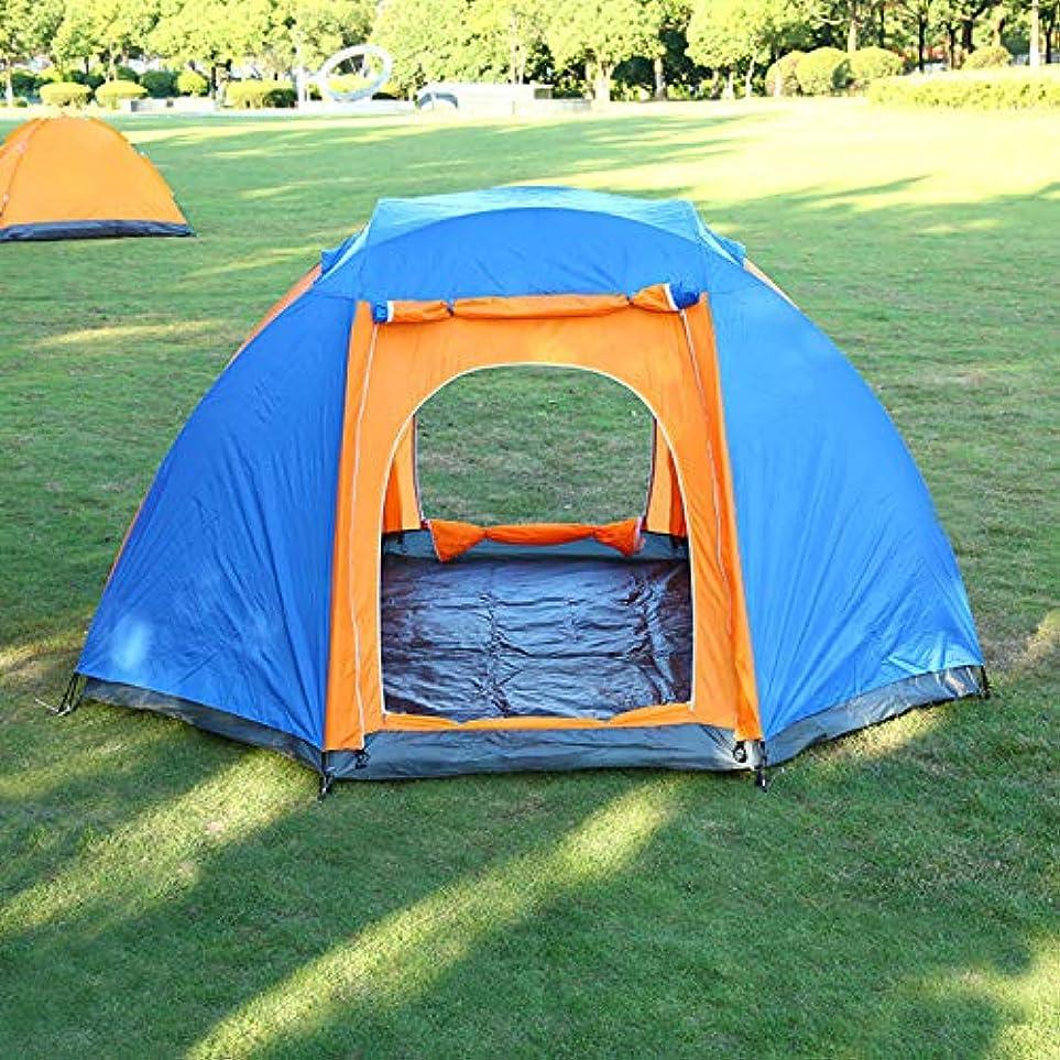靄発見章八角形のテント特大6-8人の二重二重ドアのキャンプの外出のキャンプの雨テント