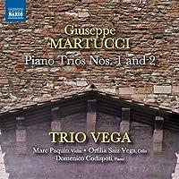 マルトゥッチ:ピアノ三重奏曲第1番, 第2番