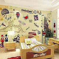 Sproud 壁紙壁紙パーソナリティ 3 D ヨーロッパスタイルのリビングルームの装飾バーコーヒーホールのシームレスなステレオ Wallcloth 200 Cmx 140 Cm