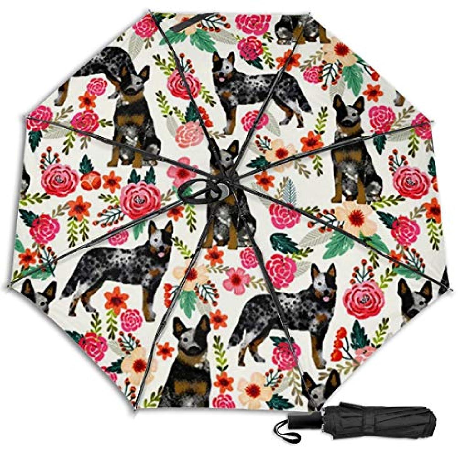 サーフィン資本主義シャットヒーラードッグ日傘 折りたたみ日傘 折り畳み日傘 超軽量 遮光率100% UVカット率99.9% UPF50+ 紫外線対策 遮熱効果 晴雨兼用 携帯便利 耐風撥水 手動 男女兼用