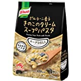 味の素 クノール スープDELI ポルチーニ香る きのこのクリームスープパスタ 3食×10袋