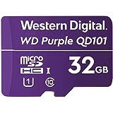Western Digital ウエスタンデジタル SC QD101 microSDカード 32GB WD Purple 監視 防犯 カメラ WDD032G1P0C【国内正規代理店品】