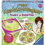 Mandala-Designer® Flowers & Butterflies. Mandala-Designer® Midi: Mandalas zum Selbermachen! Malrahmen, Mandaleschablone, Papier, Filzstift, Buntstifte