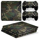 Sony PS4 Playstation 4 Pro Skin Design Foils Faceplate Set - Camouflage 3 Design