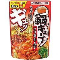 味の素 鍋キューブ ピリ辛キムチ 76g