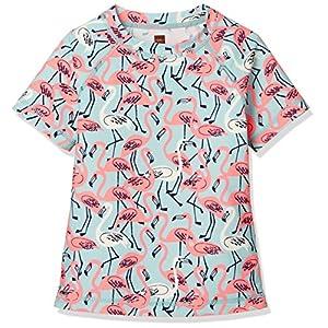 [ティコレクション] 子供服 キッズ ハンソデ ラッシュガード 水着 女の子 ガールズ インポート UPF40+ フラミンゴ ピンク 8S12606R-G98 US 4T(4~5歳):日本サイズ約100~110cm (日本サイズ110 相当)