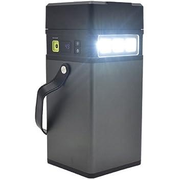 PLATA ACコンセント 差込も使える ポータブル電源 100,000mAh バッテリー AC115V使用可 無停電電源装置 LEDライト 災害 防災グッズ 家庭用蓄電池 キャンプ アウトドア 野外 にも
