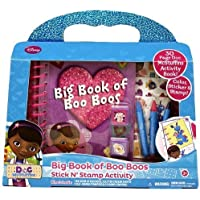 ドックはおもちゃドクター ビッグブック セット Tara Toy Doc McStuffins Big Book of Boo Boo's by Tara Toys [並行輸入品]