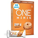 ONE Minis Maple Glazed Doughnut Protein Energy Bar, 80 Calorie Snack With Less Than 1g Sugar, Post Workout Snack, .78 oz. (30