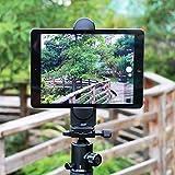 Ulanzi タブレット三脚マウントアダプタ、iPadエアプロ、マイクロソフトサーフェス、タブレット用の柔軟な調節可能なタブレットホルダー 画像
