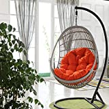 Awhao Swing Hanging Basket Seat Cushion Thicken Hanging Egg Hammock Chair Pad for Home