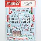 【STUDIO27/スタジオ27】1/24 アルファロメオ 155 V6 TI DTM 1994 No.25/26