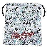ローリングス(Rawlings) 野球用 グラブ袋Rドット EAC11S02 ホワイト サイズ 40X34.5cm