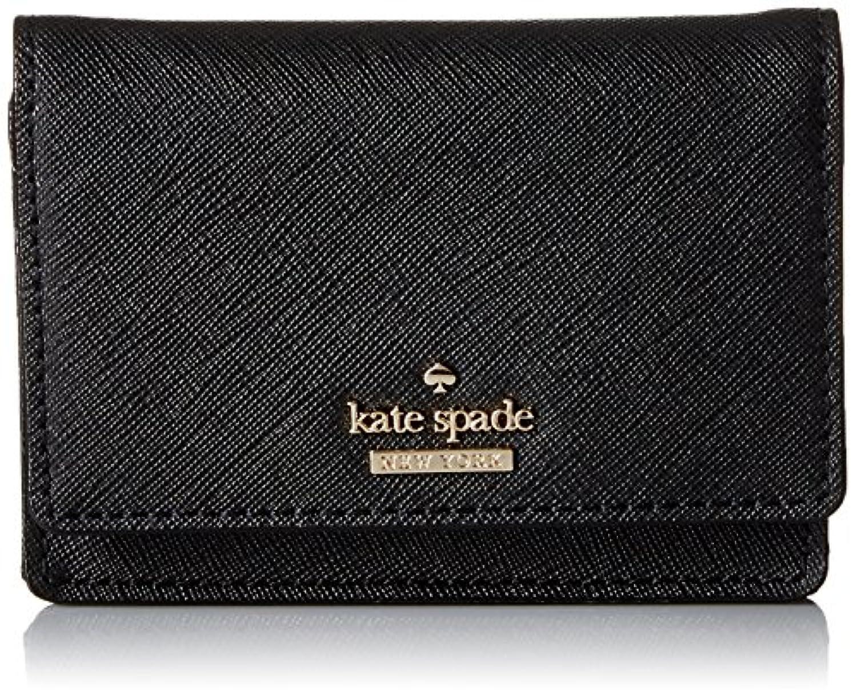 [ケイトスペード] カードケース レディース KATE SPADE PWRU5096 001 ブラック [並行輸入品]