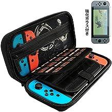 Nintendo Switch ケース Jyoker スイッチ専用耐衝撃収納ハードケース 大容量EVA製 外出や旅行用収納バッグ
