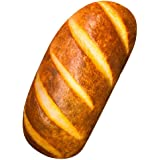 "elfishgo 3D Simulation Bread Shape Pillow,Soft Butter Bread Food Plush Cushion Stuffed Toy for Home Decor 7.8"""