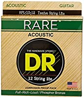 DR Strings Rare - リン青銅 12弦 音響: ライト 1 pack RPL1012