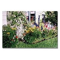 Trademark Fine Art The Tangled Garden David Lloyd Glover キャンバスウォールアート 16 by 24-Inch DLG0209-C1624GG