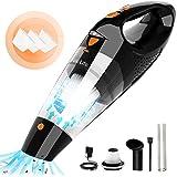 Vaclife Handheld Vacuum, Hand Vacuum Cordless with High Power, Mini Vacuum Cleaner Handheld Powered by Li-ion Battery Recharg