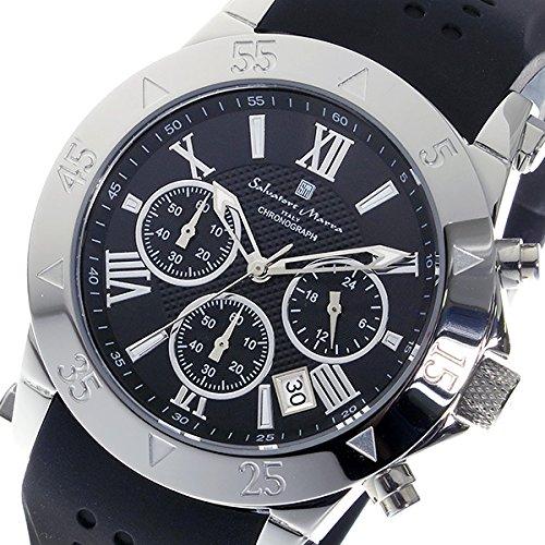 サルバトーレマーラ Salvatore Marra クロノグラフ メンズ 腕時計 流通限定 SSBK