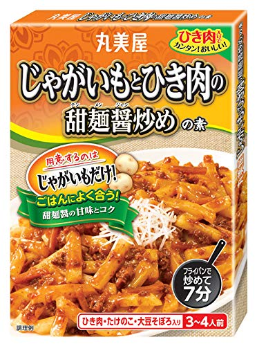 丸美屋食品工業 じゃがいも甜麺醤炒め 150g ×10個