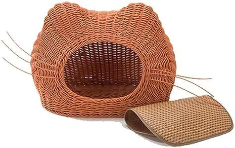 猫子猫ツリークライマーアクティビティセンターマルチレベルの猫スクラッチャー家具,Brown