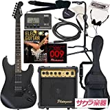 SELDER セルダー エレキギター ストラトキャスタータイプ サクラ楽器オリジナル STC-04/BB 初心者入門13点セット
