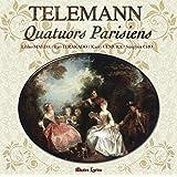 テレマン : フルートとヴァイオリンとヴィオラ・ダ・ガンバまたはチェロと通奏低音のための6つの組曲からなる新しい四重奏 (1738年 パリ) (Telemann : Qyartuors Parisiens / Liliko Maeda | Ryo Teradado | Kaori Uemura | Sungyun Cho) (2CD)