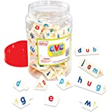Junior Learning CVC Tri-Blocks Tub Word Building Set