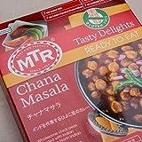 レトルトカレー MTR チャナマサラ Chana Masala 300g×10個 豆カレー