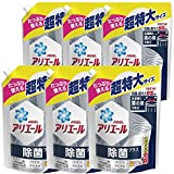 【ケース販売】 アリエール 除菌プラス 洗濯槽の菌の巣まで除菌 洗濯洗剤 液体洗剤 詰め替え 945g×6袋