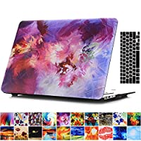 AY0070Macbookシリーズ用ケース + キーボードカバー プロテクター Macbook Pro 13 With CD-ROM AY0070-13Pro-Mixed Color