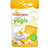 Happy Baby Organic Yogis Snacks, Banana Mango, 28g