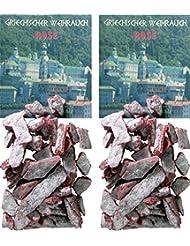 Trimontium GWR06-P2 インセンス フランキンセンス ローズ-ギリシャの歌 2 x 25g チャコールシーブ