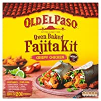 Old El Paso - Oven Baked Crispy Chicken Fajitas - 555g