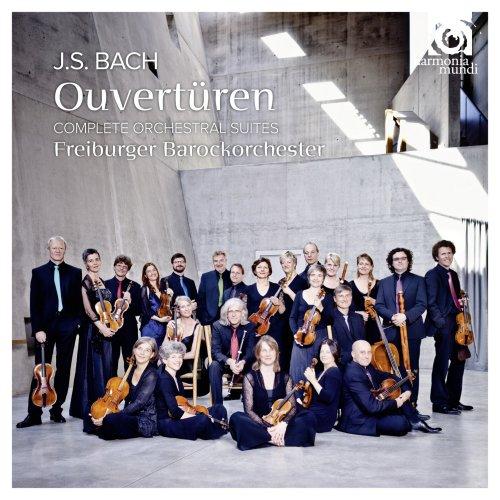 J.S. バッハ:管弦楽組曲 (全4曲) (J.S. Bach : Ouverturen - Complete Orchestral Suites / Freiburger Barockorchester) [2CD] [輸入盤・日本語解説書付]