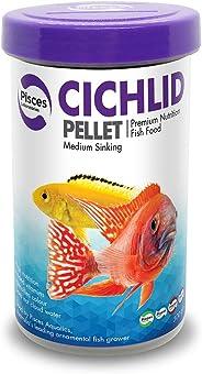 Pisces Aquatics Cichlid Pellet Med 300g