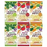【Amazon.co.jp限定】 【Amazon.co.jp 限定】キユーピー おやさいりんぐ 6袋セット(3種×2袋) 【9ヵ月頃から】 ノンフライ 砂糖・食塩不使用 カルシウム入り 特定原材料等27品目不使用 ×4袋