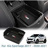 Vesul Armrest Secondary Storage Box Glove Pallet Center Console Tray for Kia Sportage 2017 2018 2019