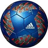 adidas(アディダス) サッカーボール エレホタ キッズ AF4100B メタリックブルー 4号