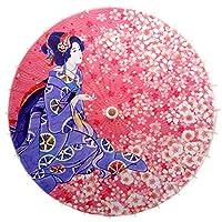 非防水手作り日本のオイルペーパー傘のレストラン傘を装飾 #13