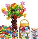 GESTAR® (ジスター) 天才のはじまり 知育玩具 ブロック おもちゃ 2歳 ~ 7歳 動画説明書付属 積み木 知育 立体 パズル はめ込み 男の子 女の子 たっぷり500ピース