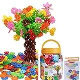GESTAR® (ジスター) 天才のはじまり 知育玩具 ブロック おもちゃ 2歳 ~ 7歳 動画説明書付属 積み木 知育 立体 パズル はめ込み 男の子 女の子 たっぷり500ピース+20枚増量中