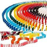 M.O.D.E. 感動を自宅でも 子供も大人も カラフル ドミノ牌 【仕掛けセット付き】 【300個〜選べる個数】 (1000個セット)
