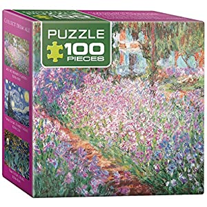 Eurographics the Artist 's Garden byクロード・モネミニパズル( 100-piece )