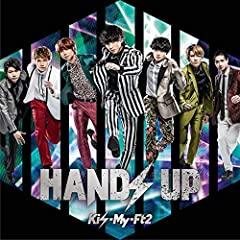 HANDS UP(CD+DVD)(初回盤B)