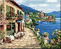 Diy oil painting, paint by number kit- Holiday of spring 16 50cm